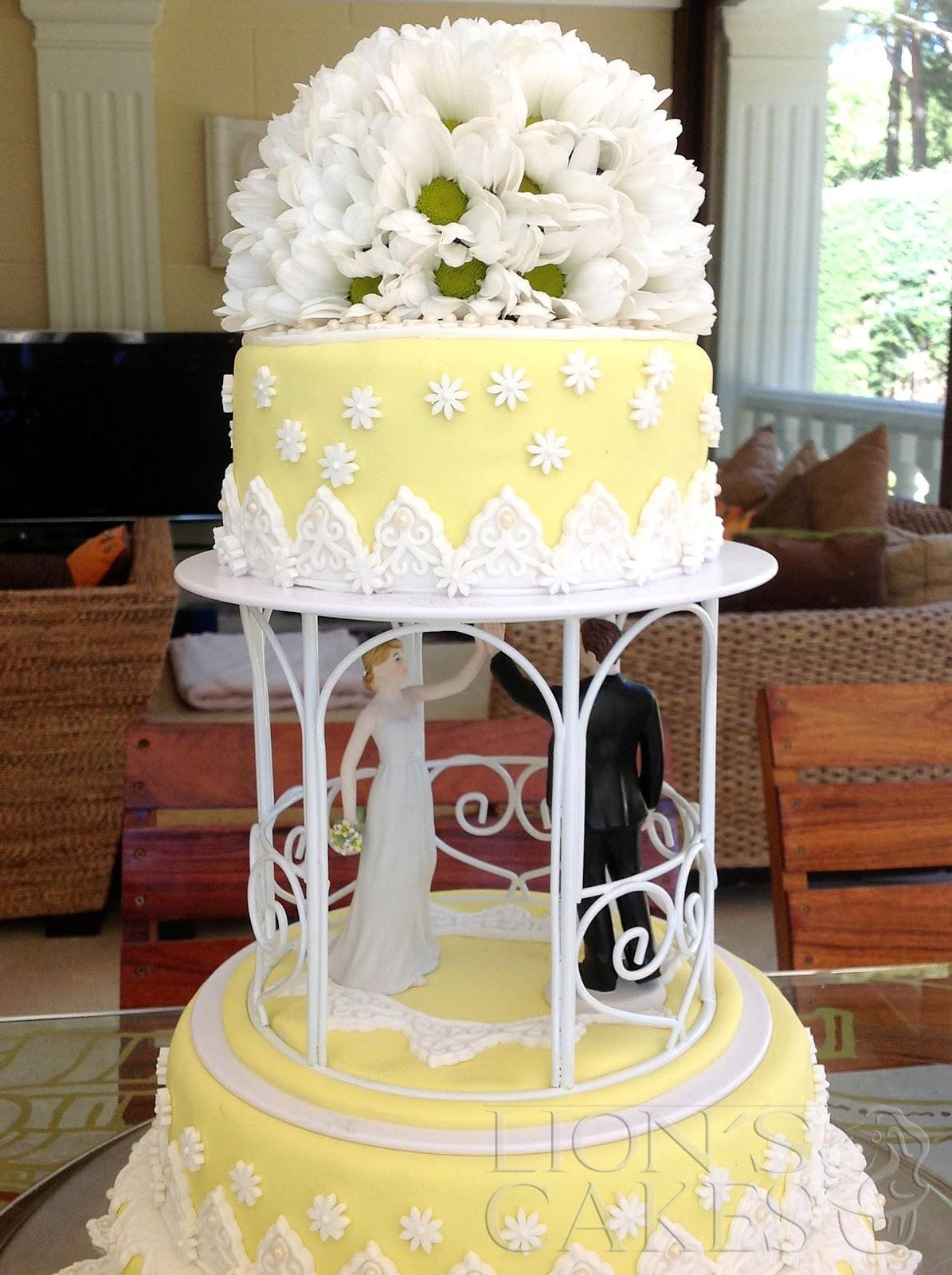 ... Cakes Pedro León France: Gâteau de Mariage Casher avec Marguerites