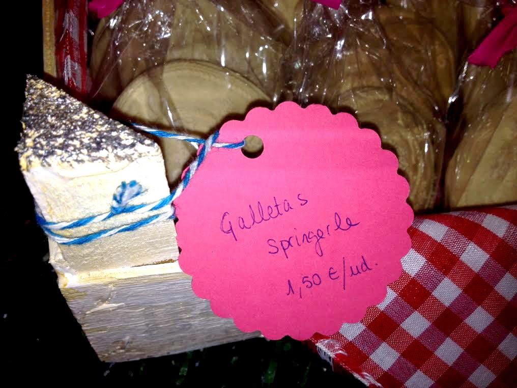 galletas springerle en horneando entre telas