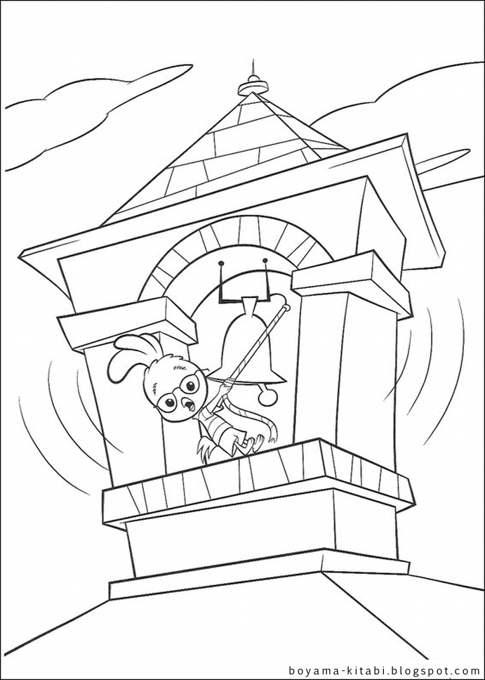 Chicken Little Coloring The Coloring Pages The Coloring Book