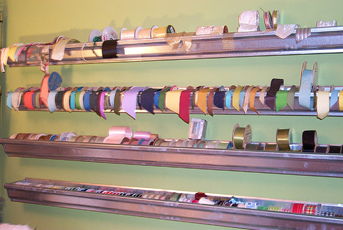 Angry Kitten Crafts Ribbon Storage Several Options
