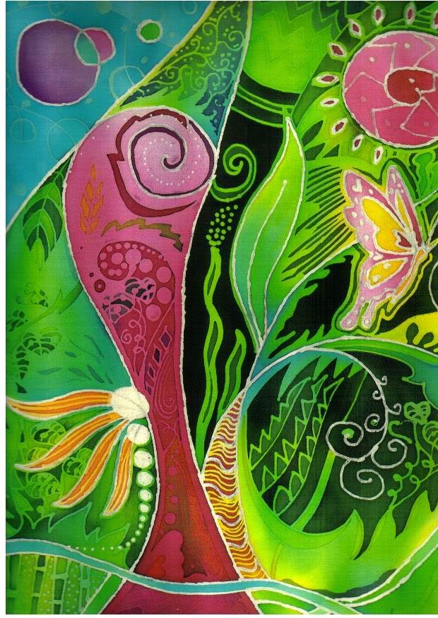 contoh contoh gambar batik