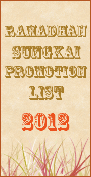 Ramadhan Sungkai Promotion List 2012