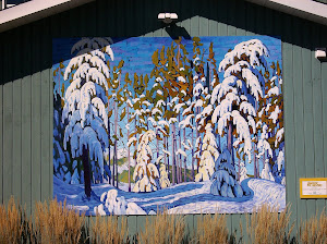 Winter in the Northern Woods, by Lawren Harris- The Group of Seven Outdoor Gallery