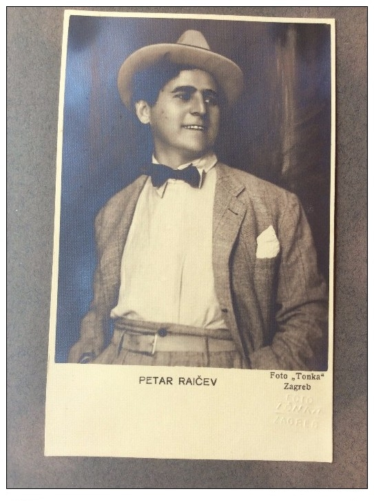 TENOR PETAR RAITSCHEFF (PIETRO RAICEFF) (1887 1960) CD