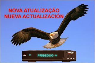 FREESKY FREEDUO PLUS ( + ) V 2.02 KEY 22W / 30W / 61W - ATUALIZAÇÃO 23/07/2015