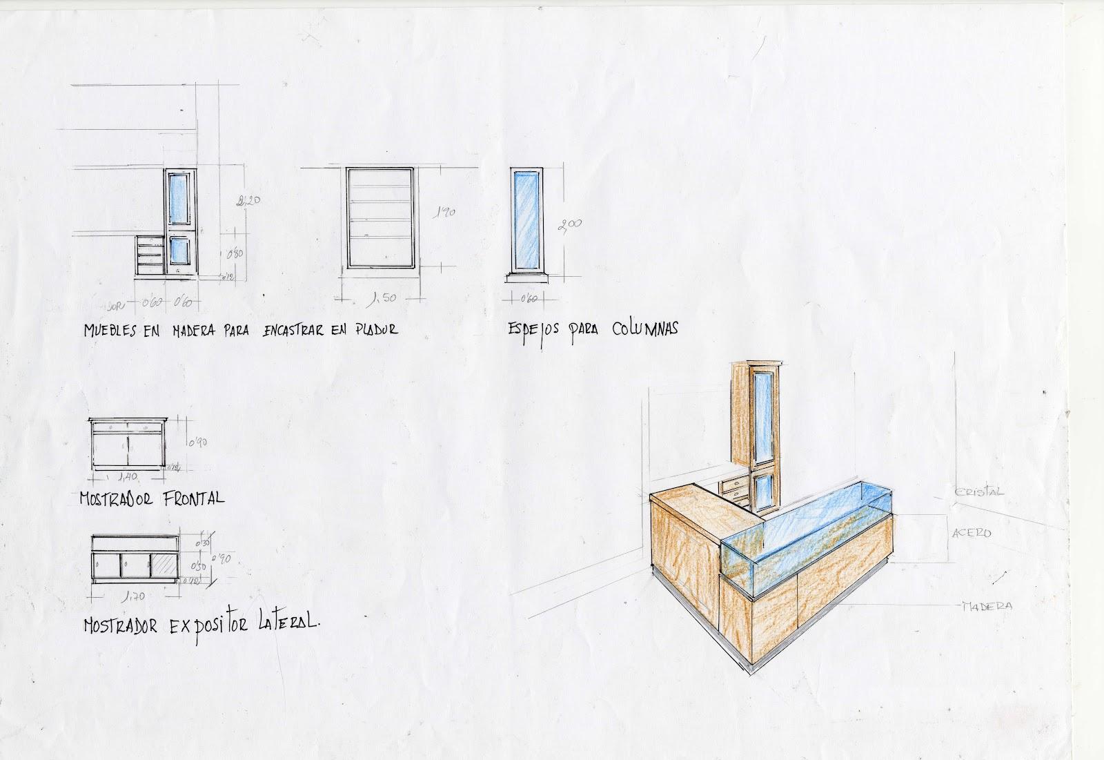 Interiorismo y decoracion lola torga asesoramiento - Disenos de mostradores ...