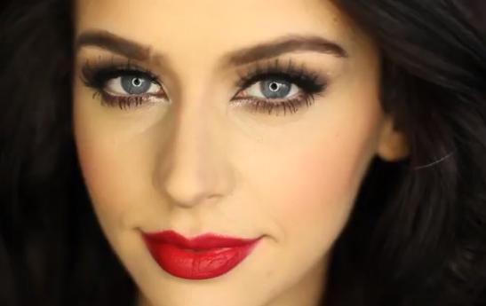 Wedding Makeup Tutorial Carli Bybel : Karas Glamour Blog: Romantic Matte Brown Smokey Eye Tutorial