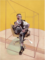 Francis Bacon / Study of a portrait