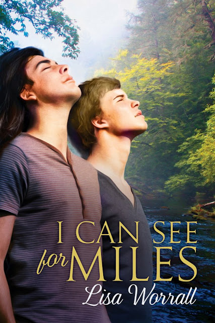 I Can See For Miles, gay romance novel with cover illustration by Paul Richmond