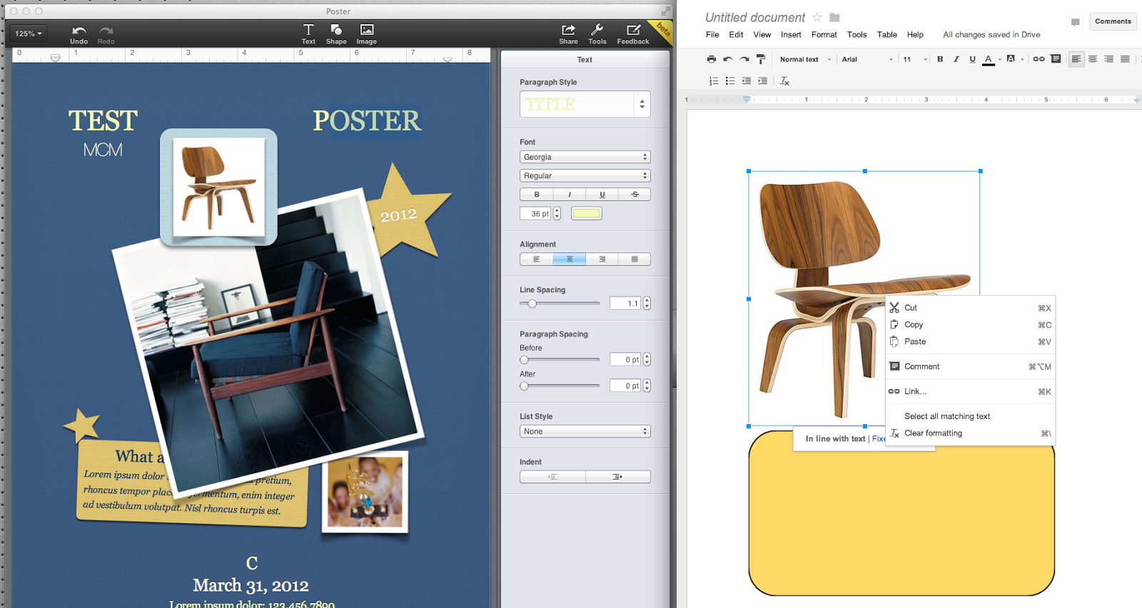 Knoll life chair geek - Here Is An Example Pages On The Left Google Docs On The Right Pages Is Like A Layout Application With The Ability To Layer