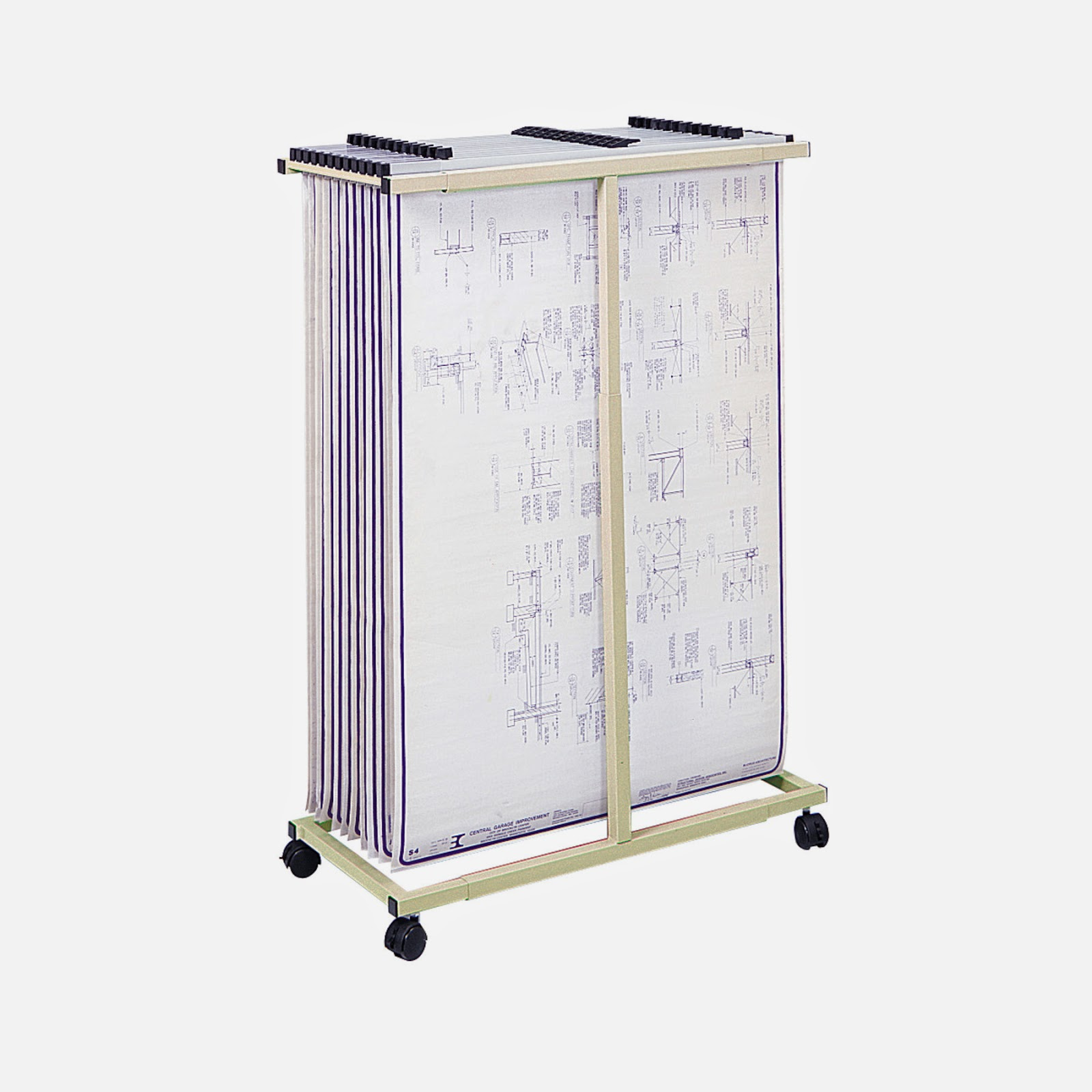 Drafting Steals Safco Blueprint Plan Rack Vertical File