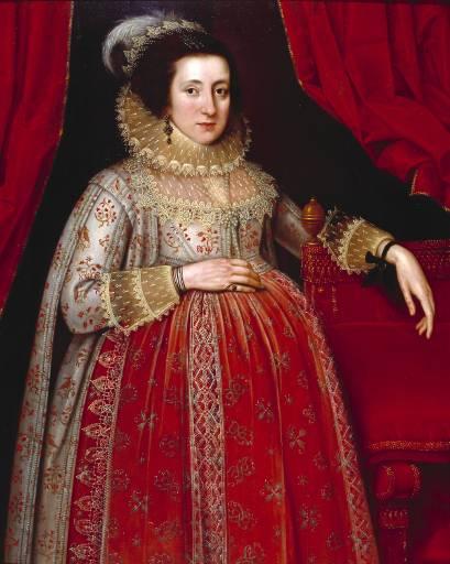 Elizabethan Pregnancy Gown