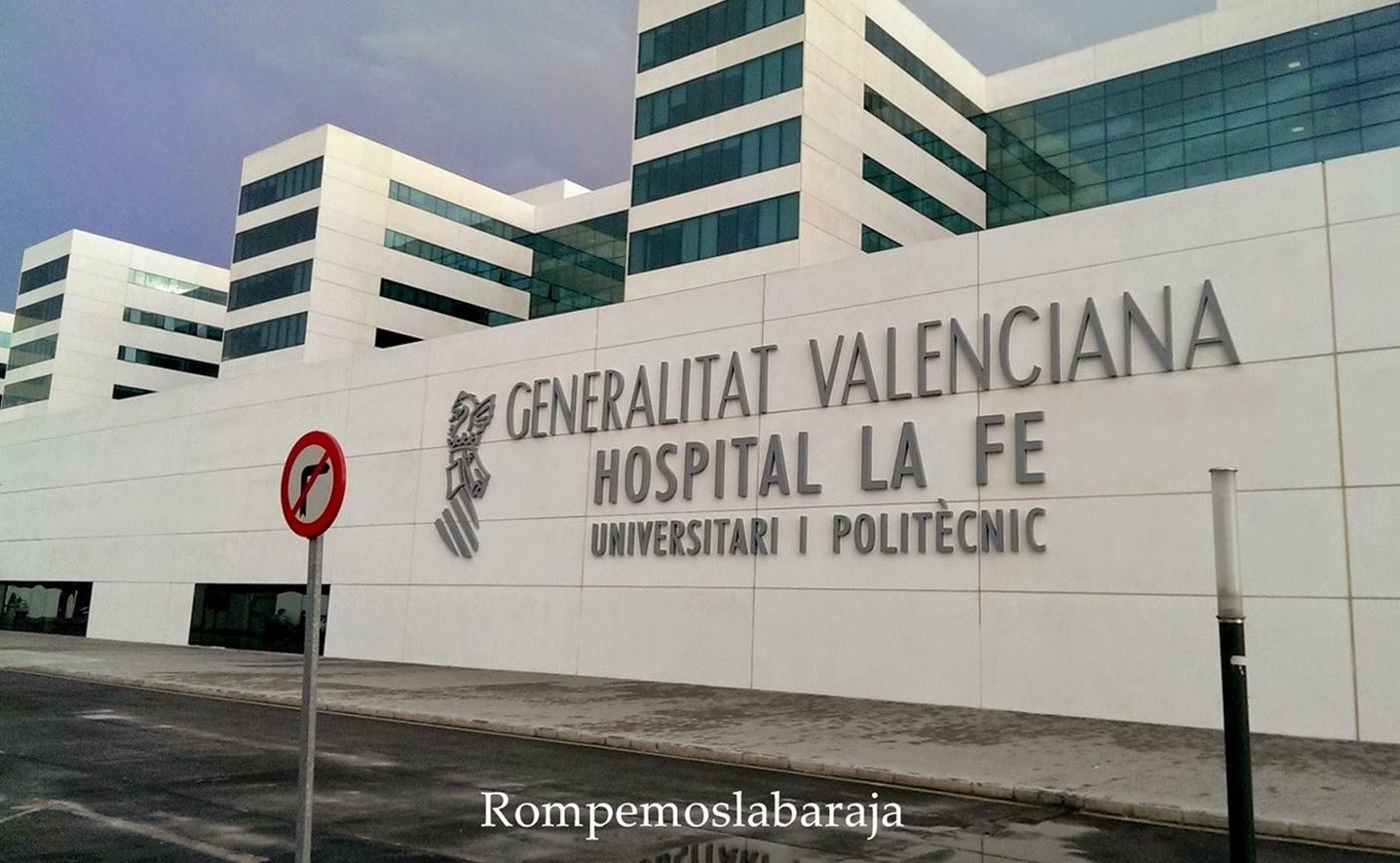Nombramientos listado de las nuevas jefaturas de servicio en los hospitales publicos valencianos - Hospital nueva fe valencia ...