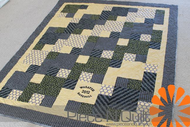Piece N Quilt Baseball Quilts Adorable Baseball Quilt Pattern