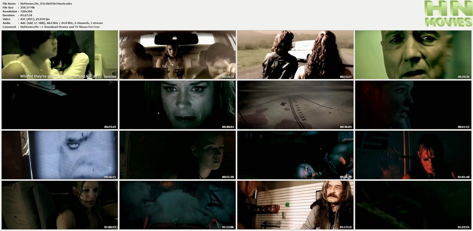movie screenshot of Devil's Mile fdmovie.com
