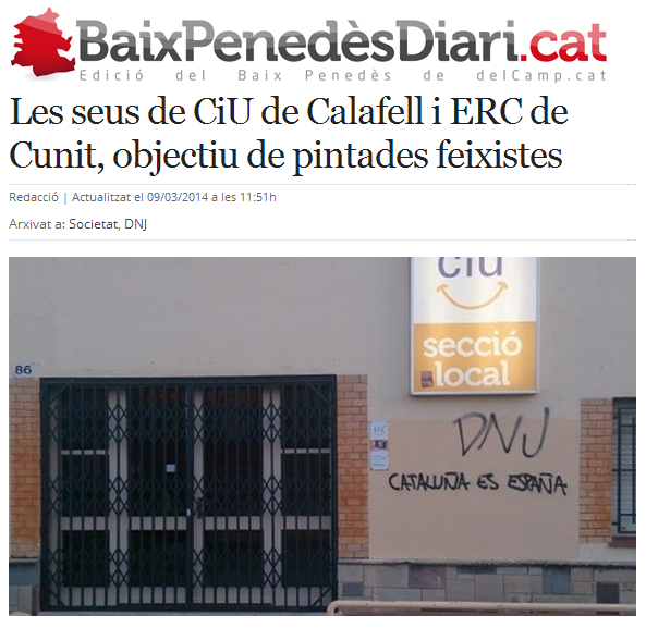 http://www.naciodigital.cat/delcamp/baixpenedesdiari/noticia/1063/seus/ciu/calafell/erc/cunit/objectiu/pintades/feixistes