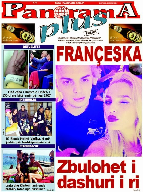Revista PANORAMA PLUS - 26 Korrik 2014