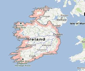 Ireland_google_map