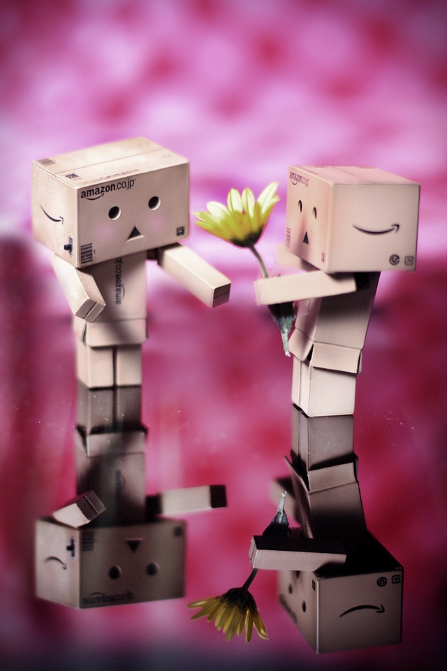 danbo love download iphone ipod touch android wallpapers
