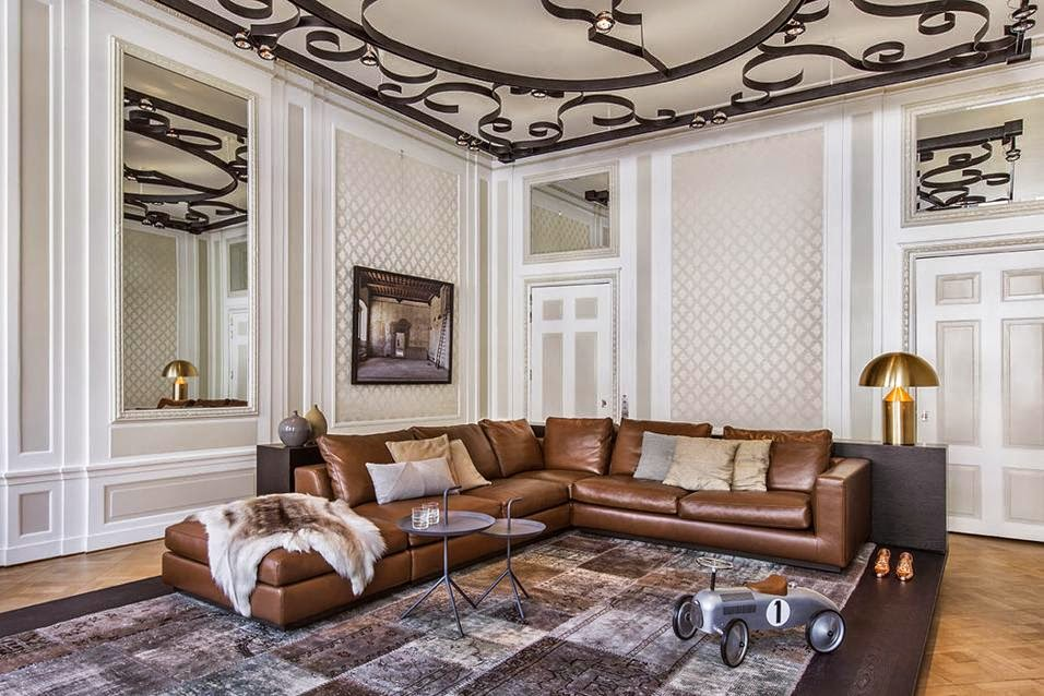 Decor inspiration interior design: new classic ad herengracht