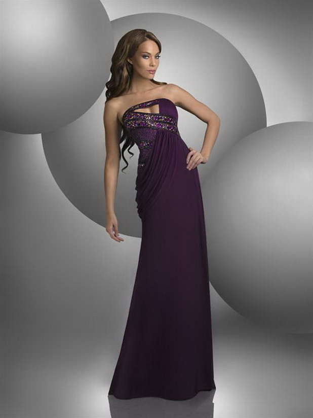 Elegant Women Best Evening Dress Collection 2013