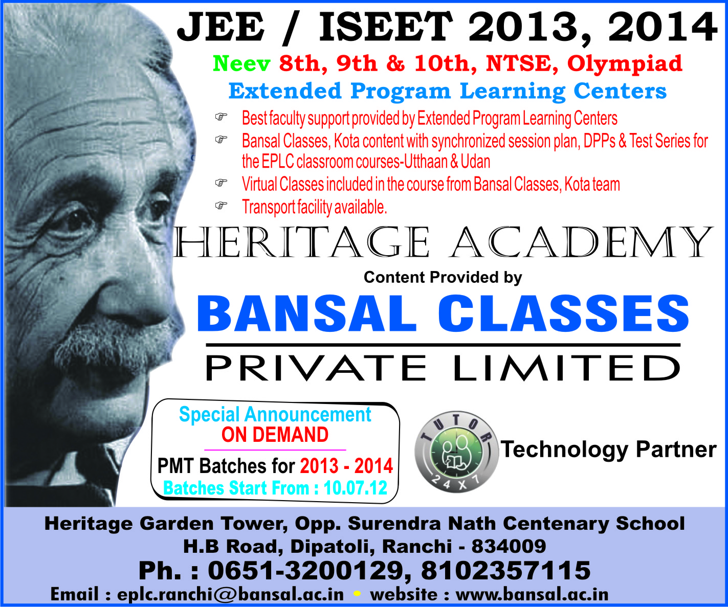 bansal classes Bansal classes pvt ltd, kota, kota, rajasthan 113k likes official facebook page of bansal classes kota.