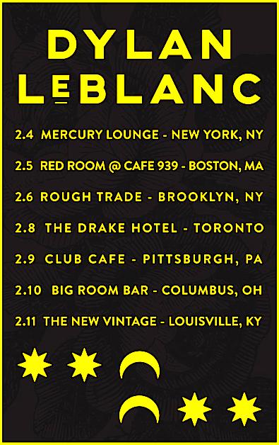 Dylan LeBlanc @ Drake Hotel, Monday