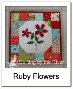 Ruby Flowers Free Tutorial at Freemotion by the River