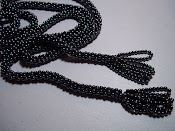 Crocheted seed beads