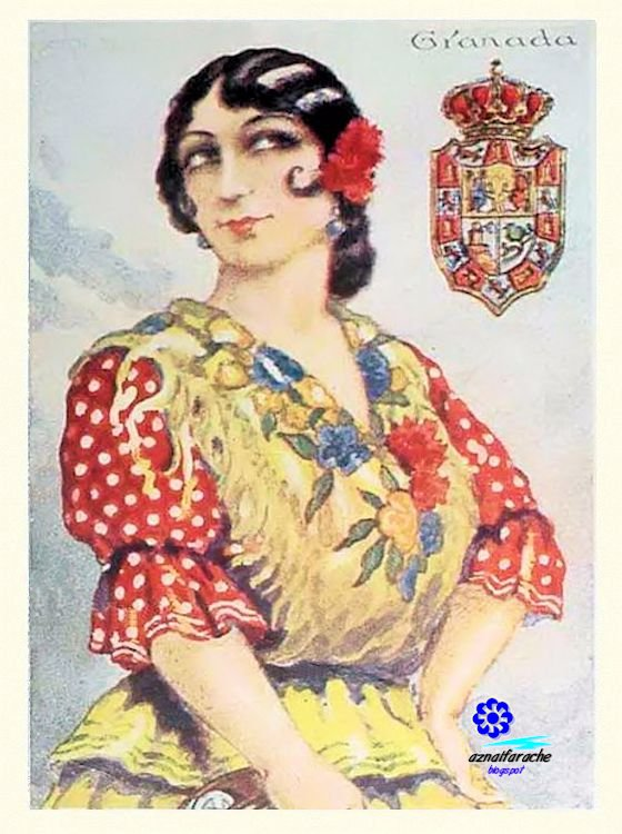 Trajes típicos de Andalucía II - Mujer | aznalfarache