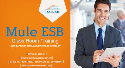 Mule ESB Class room Training in Madhapur