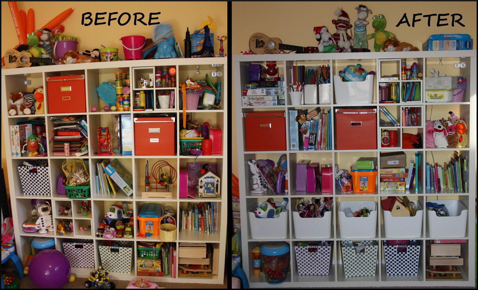 Play room organization the lovebugs blog for Room organization