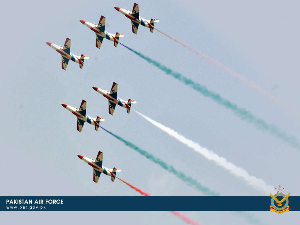 Pakistan Air Force K-82 Training Aircraft Formation Wallpaper
