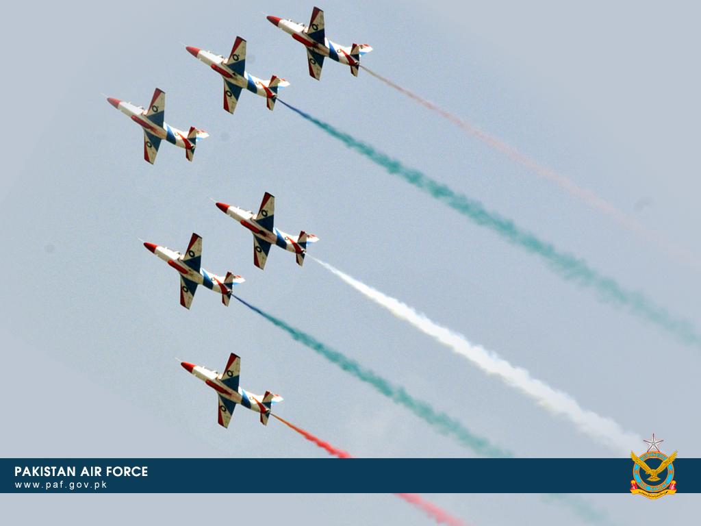 Pakistan Air Force K-82 Training Aircraft Formation Wallpaper