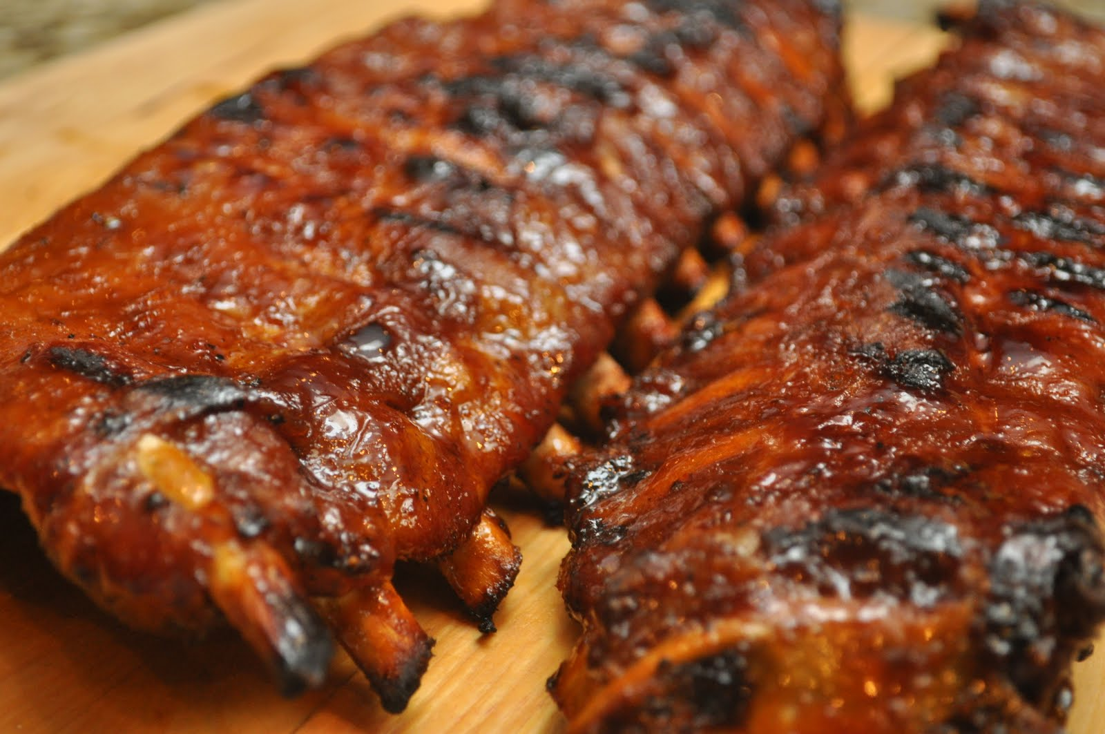Bourbon Glazed Baby Back Ribs