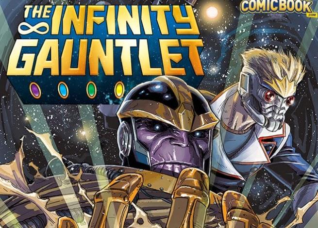 Manopla do Infinito - Lançamento da Marvel