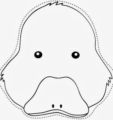Varias máscaras de pato