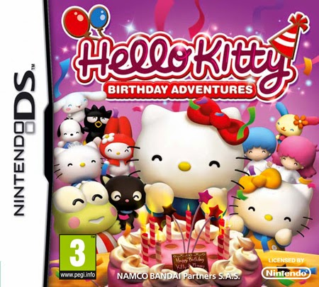 Hello Kitty Birthday Adventures (Español) (Nintendo DS)