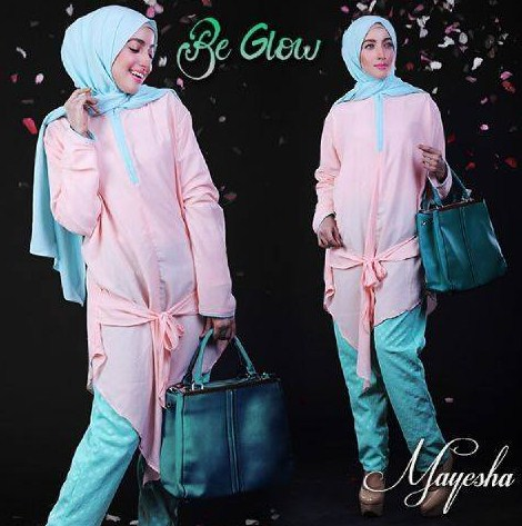 Contoh Foto Baju Muslim Modern Terbaru 2016 Style Fashion Baju Muslim Untuk Wanita Kurus Model Baru