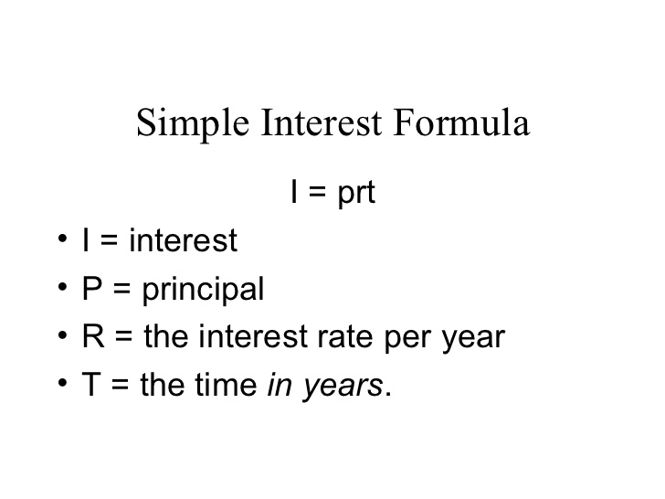 Ms Bosis Math ALGEBRA 17 MOD 3 – Simple Interest Math Worksheets