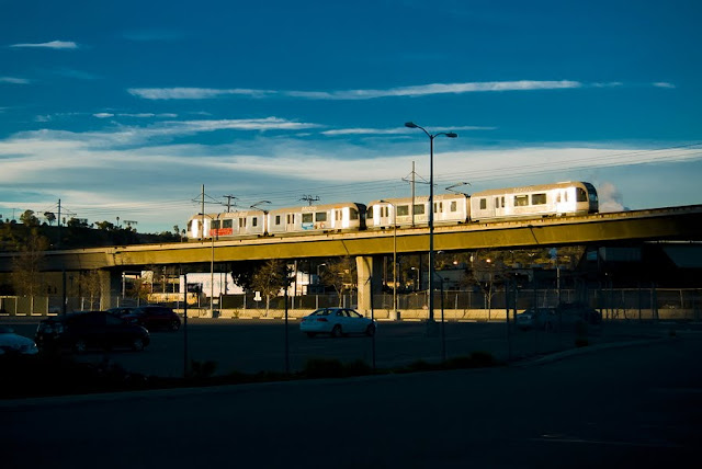 Metro Gold Line pulls into Union Station (C)2012 Glenn Primm Photography