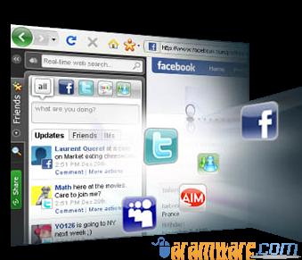 كن على اتصال باصدقائك وشارك معهم كل شئ مع برنامج يونو Yoono Desktop
