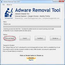 برنامج adware removal tool لمسح الملفات الضاره من على جهازك اخر اصدار 2015