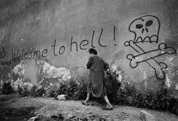 Survivalisme urbain et vécu : Bienvenue en enfer. Bosnie+5