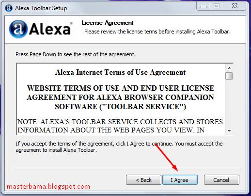 Cara Memasang Alexa Toolbar Pada Browser Internet Explorer