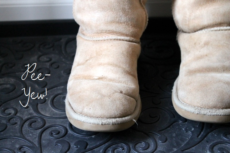 I was weary of washing them- I know they are made with real wool and I see signs in dry cleaning establishments that they clean Uggs, telling me to proceed ...