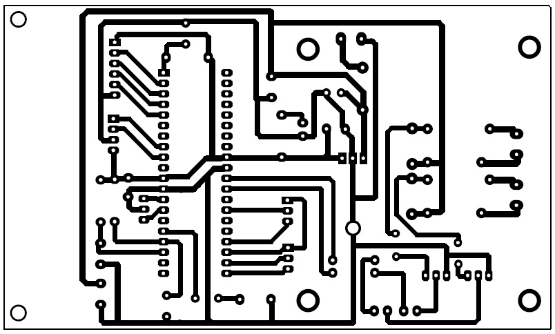 final year project  pcb layout of pic 16f877a
