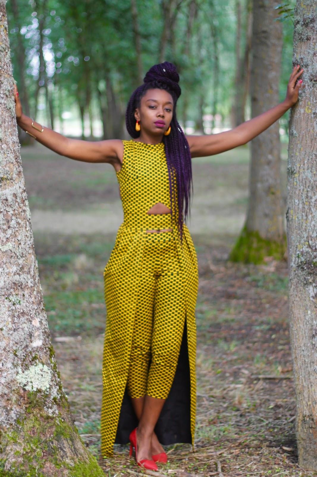 Model Pagne Africain Pantalon
