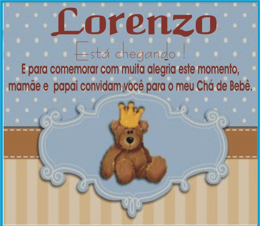 tema do Chá do Lorenzo foi Urso Rei, e fizemos toda parte de ... Wedding Border Png