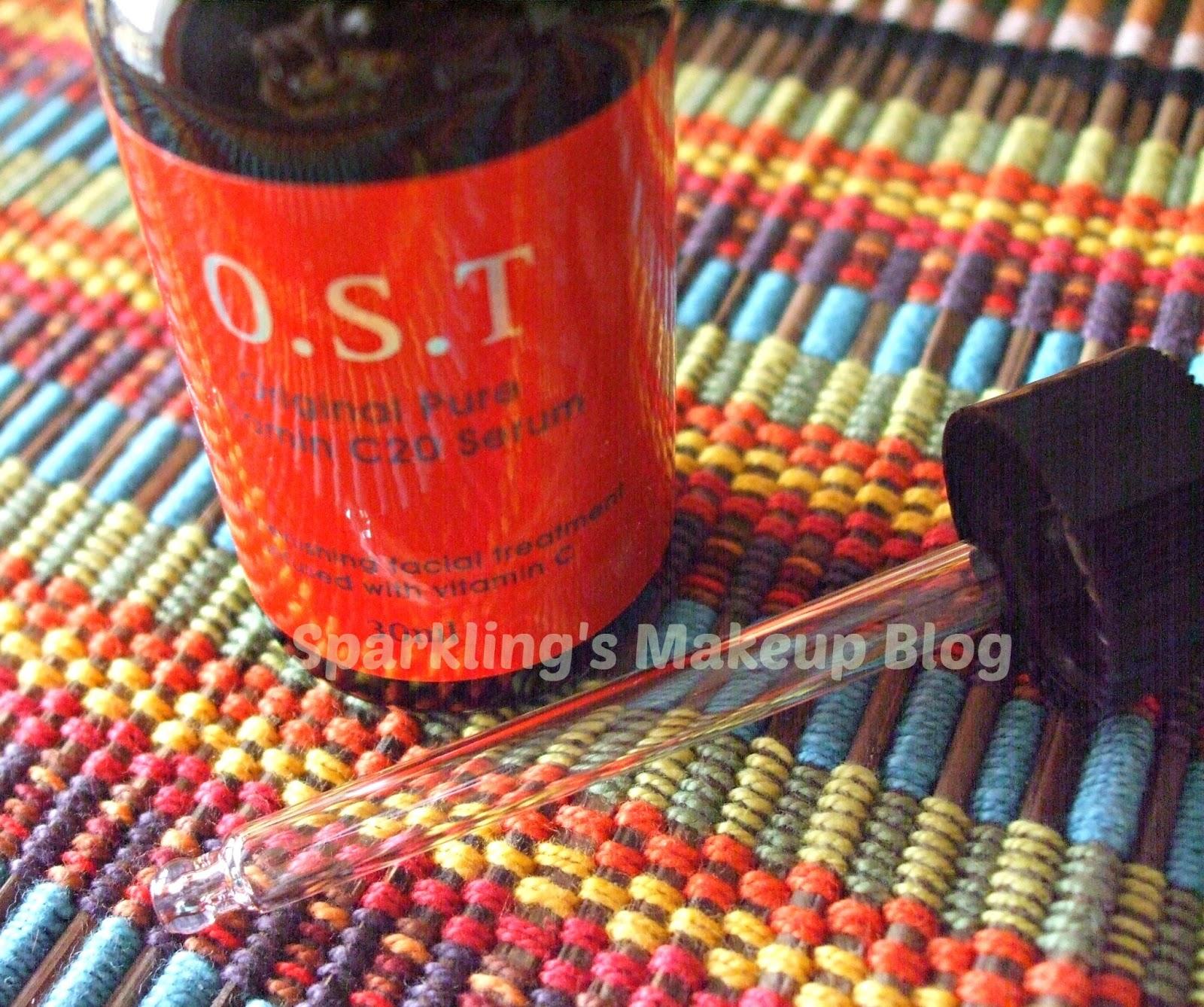 Ost Original Pure Vitamin C20 Serum Review Sparkling Palette Blog 30ml